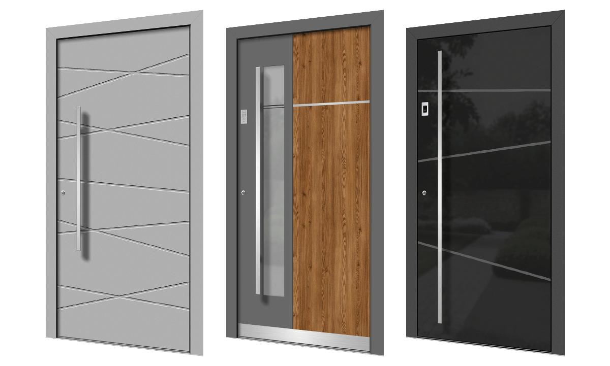 Holz-Alu Türen