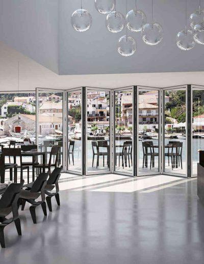 Terrassentüre Restaurant