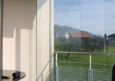 Glas Balkontüre