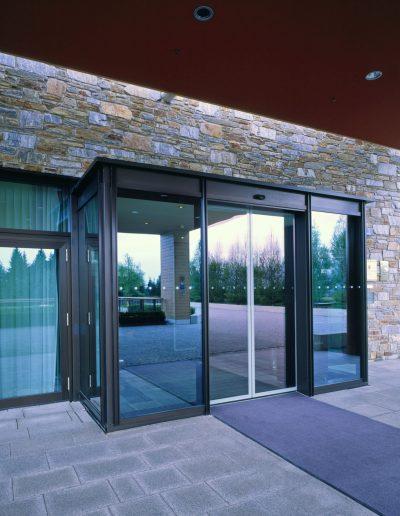 Glasbau Einfamilienhaus