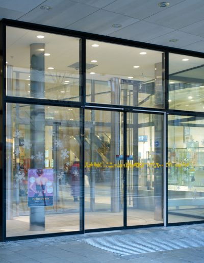 Verglasung Shopping Center