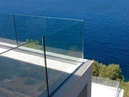 Glasgeländer Swimmingpool