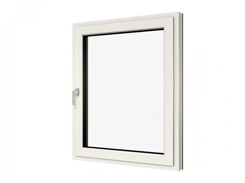 Fensterrahmen weiß